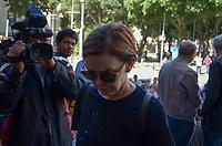 RIO DE JANEIRO, RJ, 08.07.2019 - VELORIO-JOÃO GILBERTO - A atriz Júlia Lemmertz esteve presente no velório no Theatro Municipal do músicoJoão Gilberto, na manhã desta segunda-feira(8).O músico morreu em cas, neste sábado(6), aos 88 ano. João Gilberto foi um dos criadores da bossa nova e enfrentava problemas de saúde havia alguns anos.Cinelândia, regiao central do Rio de Janeiro Rio de Janeiro ( Foto: Vanessa Ataliba/Brazil Photo Press/Folhapress)