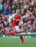 Arsenal's Alex Oxlade-Chamberlain in action during the Premier League match at the Emirates Stadium, London. Picture date October 26th, 2016 Pic David Klein/Sportimage