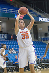 Texas Arlington Mavericks forward Rosalyn Thorpe (35) in action during the game between the Texas Pan American Lady Broncs  and the Texas Arlington Mavericks at the College Park Center arena in Arlington, Texas. UTPA defeats UTA 59 to 57....