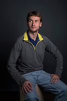 Russian anti-doping whistleblower Vitaly Stepanov (cq) photographed on December 21, 2015. Stepanov is currently residing outside Russia after fleeing his home country after revealing and acting as whistle blowers in a Russian doping and drug enhancing system throughout the countries athletics program. His wife Yuliya, a middle distance runner, is currently under a ban from running after getting caught using performance enhancing drugs. Vitaly is a former Russian Anti-Doping Agency employee.<br /> <br /> Photo by Matt Nager