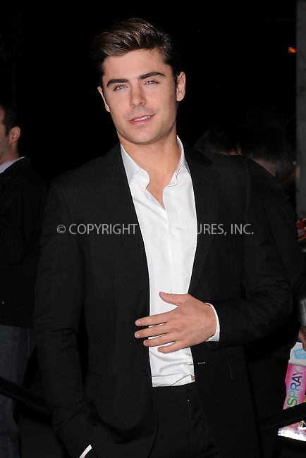 WWW.ACEPIXS.COM . . . . . .April 19, 2012...New York City....Zac Efron arriving to the Cinema Society & Men's Health screening of 'The Lucky One' at the Crosby Street Hotel on April 19, 2012 in New York City. ...Please byline: KRISTIN CALLAHAN - ACEPIXS.COM.. . . . . . ..Ace Pictures, Inc: ..tel: (212) 243 8787 or (646) 769 0430..e-mail: info@acepixs.com..web: http://www.acepixs.com .