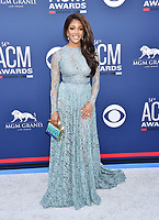 LAS VEGAS, CA - APRIL 07: Mickey Guyton attends the 54th Academy Of Country Music Awards at MGM Grand Hotel &amp; Casino on April 07, 2019 in Las Vegas, Nevada.<br /> CAP/ROT/TM<br /> &copy;TM/ROT/Capital Pictures