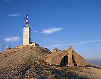 France, Provence, Beaumont-du-Ventoux: Summit of Mount Ventoux | Frankreich, Provence, Beaumont-du-Ventoux: Mont Ventoux