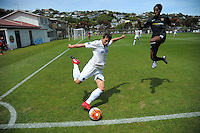170108 Stirling Sports Premiership Football - Team Wellington v Auckland City FC