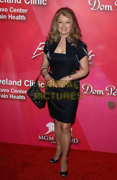 "Mary Hart.Keep Memory Alve ""Power of Love Gala"" at MGM Grand Garden Arena, Las Vegas, Nevada, USA..February 18th, 2012.full length black dress jacket handbag purse bolero.CAP/ADM/MJT.© MJT/AdMedia/Capital Pictures."