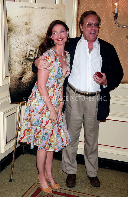 WWW.ACEPIXS.COM . . . . .....May 10, 2007. New York City.....Actress Ashley Judd and director William Friedkin attend the press conference for 'BUG' at The Regency Hotel...  ....Please byline: Kristin Callahan - ACEPIXS.COM..... *** ***..Ace Pictures, Inc:  ..Philip Vaughan (646) 769 0430..e-mail: info@acepixs.com..web: http://www.acepixs.com