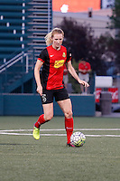 Rochester, NY - Friday June 24, 2016: Western New York Flash midfielder Samantha Mewis (5) during a regular season National Women's Soccer League (NWSL) match between the Western New York Flash and the Boston Breakers at Rochester Rhinos Stadium.