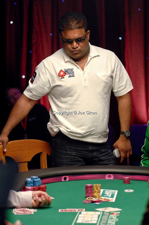 Pokerstars Team Pro Victor Ramdin is eliminated in 9th. place.