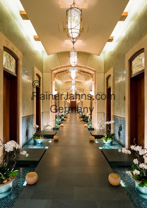 United Arab Emirates, Dubai: The Spa at the Atlantis Palm Jumeirah Hotel.