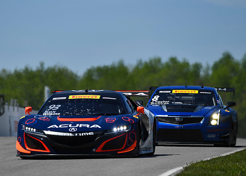 Pirelli World Challenge<br /> Victoria Day SpeedFest Weekend<br /> Canadian Tire Motorsport Park, Mosport, ON CAN Saturday 20 May 2017<br /> Peter Kox/ Mark Wilkins<br /> World Copyright: Richard Dole/LAT Images<br /> ref: Digital Image RD_CTMP_PWC17057