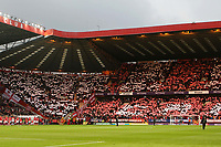 Charlton fans ahead of kick-off during Charlton Athletic vs Doncaster Rovers, Sky Bet EFL League 1 Play-Off Football at The Valley on 17th May 2019