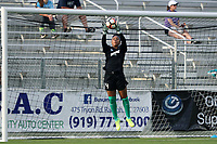 Cary, North Carolina  - Saturday June 17, 2017: Abby Smith prior to a regular season National Women's Soccer League (NWSL) match between the North Carolina Courage and the Boston Breakers at Sahlen's Stadium at WakeMed Soccer Park. The Courage won the game 3-1.
