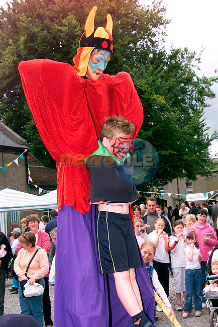Children being entertained at St. Peter's Church of Ireland Summer Fair..Picture: Paul Mohan/Newsfile