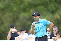 Sergio Garcia (ESP) on the 11th tee during the 3rd round of the DP World Tour Championship, Jumeirah Golf Estates, Dubai, United Arab Emirates. 17/11/2018<br /> Picture: Golffile | Fran Caffrey<br /> <br /> <br /> All photo usage must carry mandatory copyright credit (© Golffile | Fran Caffrey)