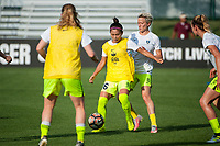 Kansas City, MO - Saturday June 17, 2017: Nahomi Kawasumi, Megan Rapinoe during a regular season National Women's Soccer League (NWSL) match between FC Kansas City and the Seattle Reign FC at Children's Mercy Victory Field.