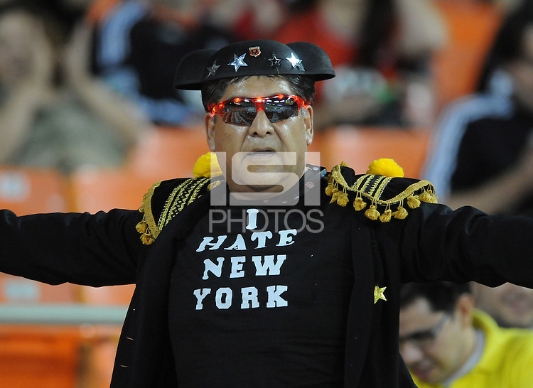 D.C. United fan. The New York Red Bulls tied D.C. United 2-2 at RFK Stadium, Wednesday August 29, 2012.