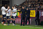 Visiting manager Marco Silva shouting instructions during the second-half as Burnley hosted Everton in an English Premier League fixture at Turf Moor. Founded in 1882, Burnley played their first match at the ground on 17 February 1883 and it has been their home ever since. The visitors won the match 5-1, watched by a crowd of 21,484.
