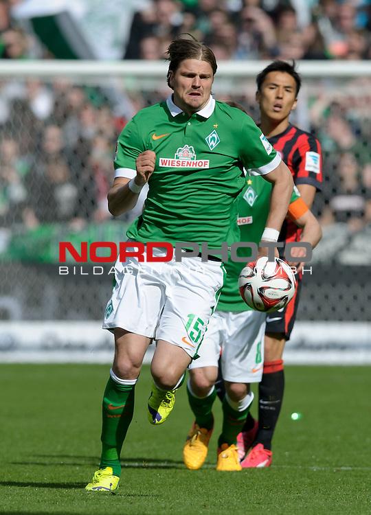 02.05.2015, Weserstadion, Bremen, GER, 1.FBL, Werder Bremen vs Eintracht Frankfurt, im Bild Sebastian Pr&ouml;dl / Proedl (Bremen #15)<br /> <br /> Foto &copy; nordphoto / Frisch