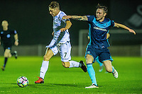Monday  19 December 2014<br /> Pictured: Daniel James of Swansea City runs with the ball <br /> Re: Swansea City U23 v Middlesbrough u23 at the Landore Training Facility, Swansea, Wales, UK