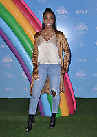 10 August  2017 - Los Angeles, California - Kelly Rowland.   Premiere of Netflix's &quot;True and The Rainbow&quot; held at Pacific Theaters at The Grove in Los Angeles. <br /> CAP/ADM/BT<br /> &copy;BT/ADM/Capital Pictures