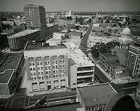 1961 August 2..Redevelopment.Downtown North (R-8)..Downtown Progress..North View from VNB Building..HAYCOX PHOTORAMIC INC..NEG# C-61-5-77.NRHA#..