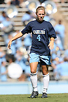 14 October 2007: North Carolina's Meghan Klingenberg. The University of North Carolina Tar Heels defeated the Wake Forest University Demon Deacons 1-0 at Fetzer Field in Chapel Hill, North Carolina in an Atlantic Coast Conference NCAA Division I Womens Soccer game.
