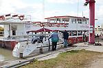 Hafen, Marina, Illmitz, Nationalpark Neusiedlersee, Seewinkel, Bezirk Neusiedl am See, Burgenland, Austria, Österreich.