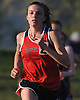 Olivia Duca of South Side legs out a victory in the girls' 3,000 meter race during the Nassau County AA track & field championship at MacArthur High School on Wednesday, May 23, 2018.