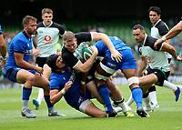 090819 | Ireland vs Italy<br /> <br /> Chris Farrell during Ireland's RWC warm up game against Italy at the Aviva Stadium, Lansdowne Road, Dublin, Ireland. Photo by John Dickson - DICKSONDIGITAL