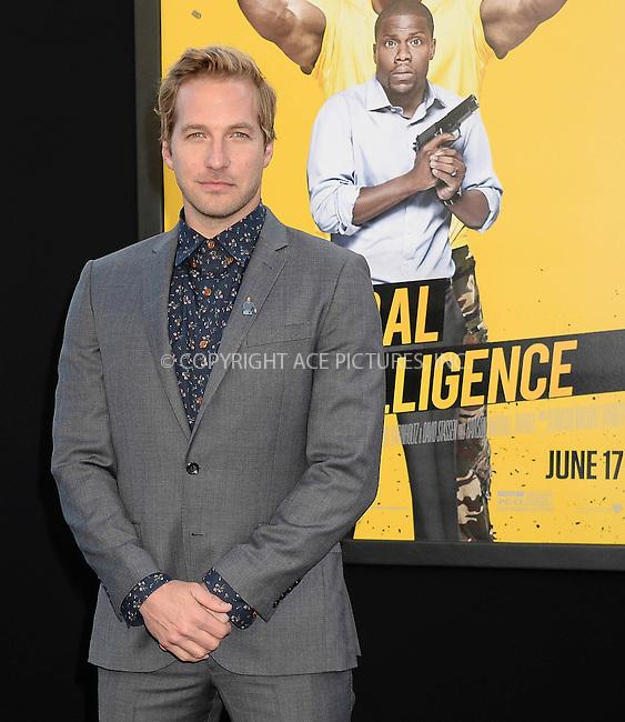 WWW.ACEPIXS.COM<br /> <br /> June 10 2016, LA<br /> <br /> Ryan Hansen attends the premiere of Warner Bros. Pictures' 'Central Intelligence' at Westwood Village Theatre on June 10, 2016 in Westwood, California.<br /> <br /> <br /> By Line: Solar/ACE Pictures<br /> <br /> <br /> ACE Pictures, Inc.<br /> tel: 646 769 0430<br /> Email: info@acepixs.com<br /> www.acepixs.com