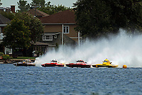 "H-911, H-20, H-1001 and Brandon Kennedy, H-30 ""Pennzoil Big Bird""    (H350 Hydro)"
