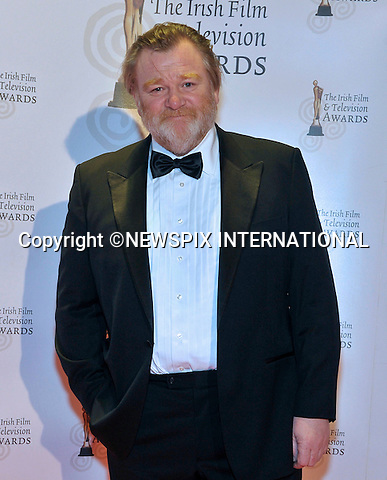 "BRENDAN GLEESON.at the 8th Annual Irish Film and Television Awards, Convention Centre, Dublin_12/02/2011.Mandatory Photo Credit: ©Chester/NEWSPIX INTERNATIONAL..**ALL FEES PAYABLE TO: ""NEWSPIX INTERNATIONAL""**..PHOTO CREDIT MANDATORY!!: NEWSPIX INTERNATIONAL(Failure to credit will incur a surcharge of 100% of reproduction fees)..IMMEDIATE CONFIRMATION OF USAGE REQUIRED:.Newspix International, 31 Chinnery Hill, Bishop's Stortford, ENGLAND CM23 3PS.Tel:+441279 324672  ; Fax: +441279656877.Mobile:  0777568 1153.e-mail: info@newspixinternational.co.uk"