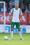 Stockholm 2013-06-23 Fotboll Superettan , Hammarby IF - &Auml;ngelholms FF :  <br /> Hammarby 5 Daniel Theorin <br /> (Foto: Kenta J&ouml;nsson) Nyckelord:  portr&auml;tt portrait