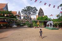 Phnom Penh, Cambodia. Wat Ounalom.