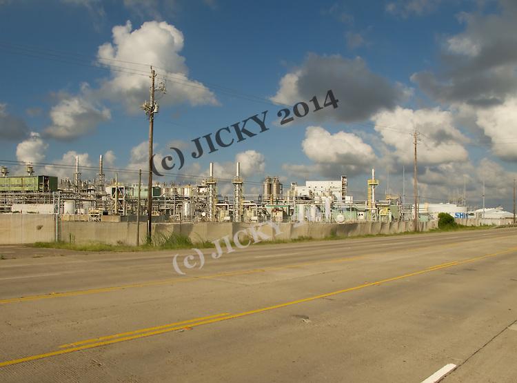 Freeport - Petrochemical refinery .