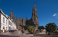 Spanien, Kanarische Inseln, Gran Canaria, Kathedrale San Juan Bautista in Arucas