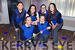 Catching ducks at the Wellbeing day in the INEC on Tuesday front row l-r: Julia and Katarzyna Klorek. Back row: Jessica Dale, Hannah Coombs, Amanda Keane and Erin Hegarty PS Inbhear Sceine Kenmare
