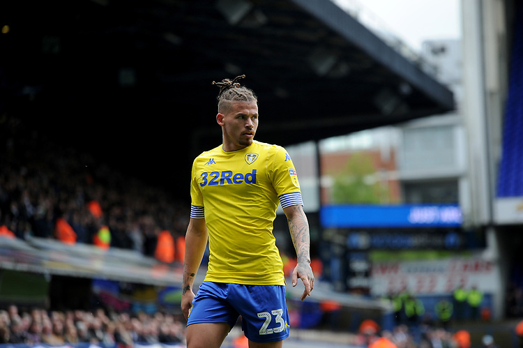 Leeds United's Kalvin Phillips<br /> <br /> Photographer Hannah Fountain/CameraSport<br /> <br /> The EFL Sky Bet Championship - Ipswich Town v Leeds United - Sunday 5th May 2019 - Portman Road - Ipswich<br /> <br /> World Copyright © 2019 CameraSport. All rights reserved. 43 Linden Ave. Countesthorpe. Leicester. England. LE8 5PG - Tel: +44 (0) 116 277 4147 - admin@camerasport.com - www.camerasport.com