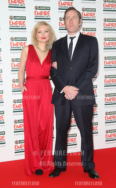 MyAnna Buring and Michael Smiley arriving for  the Empire Film Awards 2012 at the Grosvenor House Hotel, London. 25/03/2012 Picture by: Henry Harris / Featureflash