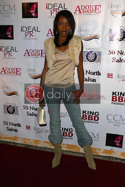 Gabrielle Dennis<br />at Shirlena Allen's Birthday Celebration. The Larchmont, Hollywood, CA. 02-06-06<br />Jason Kirk/DailyCeleb.com 818-249-4998