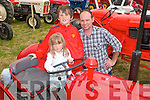 Kilflynn Vintage Rally : Attending the Kilflynn Vintage rally on Sunday were Casey, David &  Pat Ryle, Ardfert.