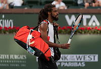 DUSTIN BROWN (GER)<br /> <br /> BNP PARIBAS OPEN, INDIAN WELLS, TENNIS GARDEN, INDIAN WELLS, CALIFORNIA, USA<br /> <br /> &copy; TENNIS PHOTO NETWORK