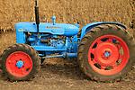 Shavuot celebration in Nahalal, 1958 Fordson Super Major tractor on display