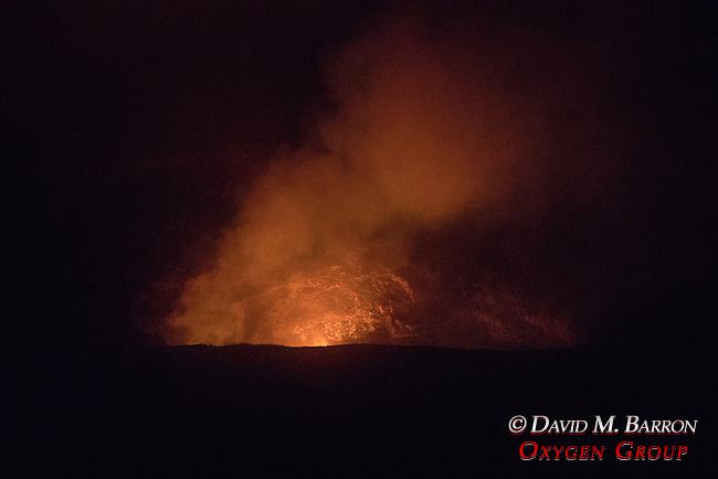 Glow Of Kilauea Volcano