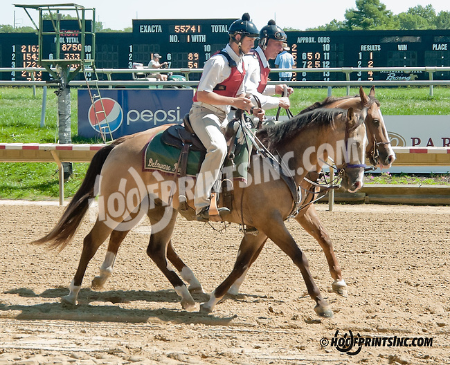 outriders at Delaware Park on 9/4/13