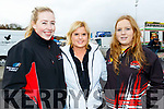 L-R Riona Griffin, Listowel, Elaine Ní Shé, Ballydavid with Meabh Griffin, Listowel enjoying the Rentakil Initial sponsored Killarney Historics car rally last Saturday.