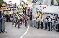 the bunch sprint roll out > sprint won by Dylan Groenewegen (NED/Jumbo-Visma)<br /> <br /> Stage 7: Belfort to Chalon-sur-Saône(230km)<br /> 106th Tour de France 2019 (2.UWT)<br /> <br /> ©kramon