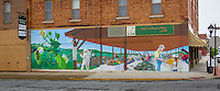 Webb City Farmers Market Mural on Route 66 painted in 2012.
