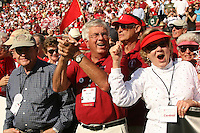 14 October 2006: Alumni fans celebrating their 50th reunion during Stanford's 20-7 loss to Arizona during Homecoming at Stanford Stadium in Stanford, CA.