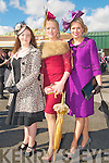 Ladies Day Listowel Races : Pictured at Ladies Day in Listowel ofn Friday last were Susanna Hennessy, Chris O'Shea & Diane Jeffers, Ardfert.